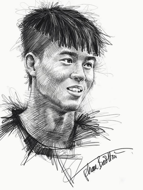 HLV Park và dàn cầu thủ U23 qua nét vẽ sống động - page 2 - 2