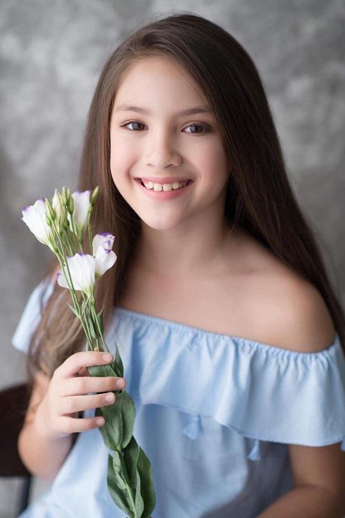 Mẫu nhí lai xinh như thiên thần ước mơ thành Hoa hậu Hoàn vũ - 2