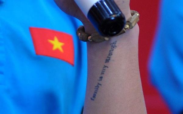 Ý nghĩa hình xăm trên tay của tiền vệ Quang Hải - 1