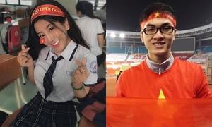 Những bạn trẻ bất ngờ nổi tiếng nhờ 'cơn sốt' U23 Việt Nam