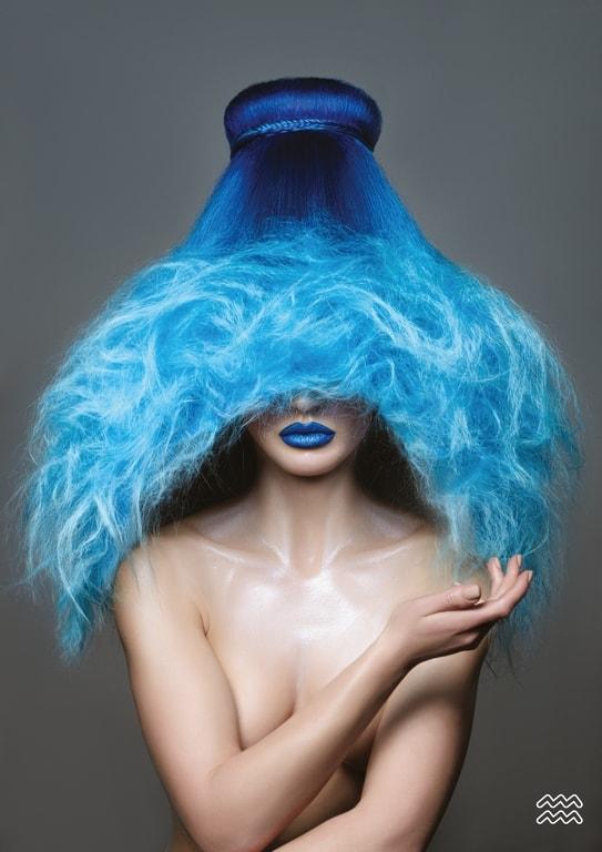 Những kiểu tóc độc đáo lấy cảm hứng từ 12 cung hoàng đạo - 10