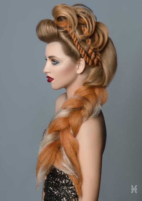 Những kiểu tóc độc đáo lấy cảm hứng từ 12 cung hoàng đạo - 11