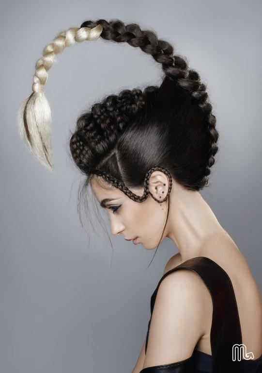 Những kiểu tóc độc đáo lấy cảm hứng từ 12 cung hoàng đạo - 7