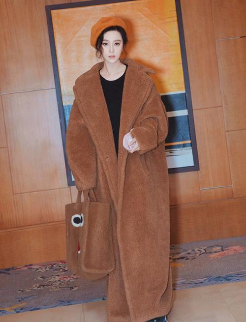 Mốt áo chăn bông vừa ấm vừa sành điệu ăn đứt áo phao - 5