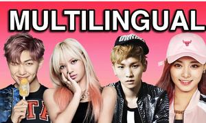 Những idol Kpop có khả năng nói hơn 3 ngoại ngữ