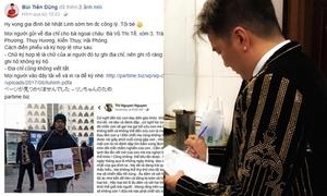 Sao Việt và U23 ủng hộ xin chữ ký đòi công bằng cho bé Nhật Linh