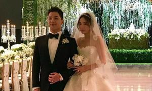 Big Bang tụ hội trong đám cưới Tae Yang, CL hát nhiệt tình