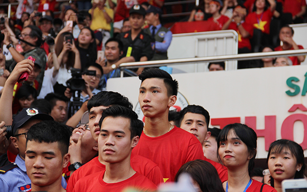 U23 Việt Nam điển trai xuất hiện trong tiếng reo hò của fan Sài Gòn