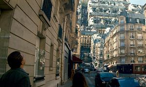 Bí mật đằng sau cảnh gập đôi thành phố Paris khó tin trong 'Inception'