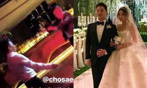 Chú rể Taeyang đọ sức hút với 'thánh nhảy cover' Jo Se Ho trong đám cưới