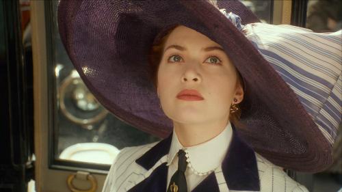 Kate Winslet trong vai nàng Rose xinh đẹp quyến rũ.