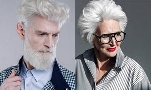 Công ty quy tụ dàn người mẫu cao tuổi 'chất lừ'