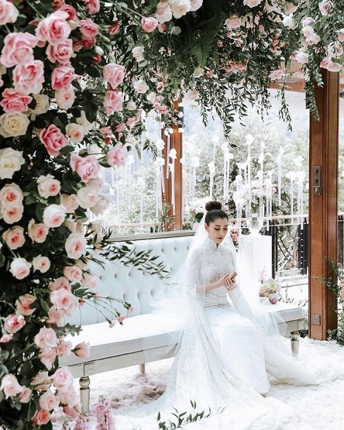 Đám cưới như cổ tích của cặp đôi con tỷ phú Châu Á - 3