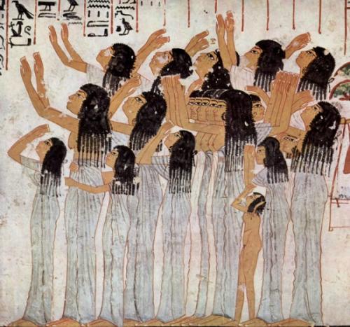 Chuyện thời cổ xưa, nhuộm tóc bằng hành, quế - 8