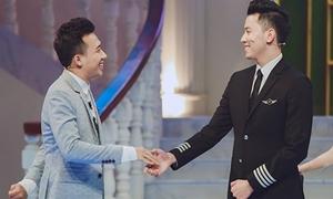 Phi công trẻ 'điển trai nhất Việt Nam' lên sóng truyền hình với Trấn Thành