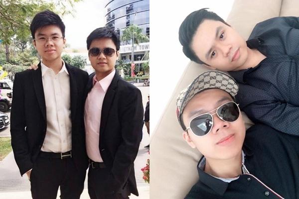 Bạn gái xinh đẹp của em trai Phan Thành