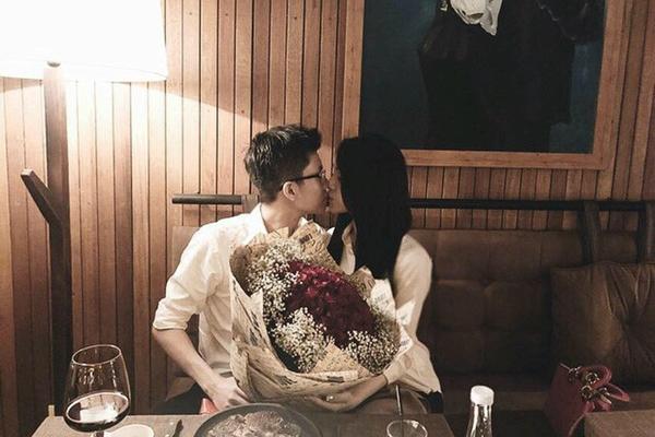 Bạn gái xinh đẹp của em trai Phan Thành - 1