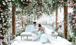 Đám cưới như cổ tích của cặp đôi con tỷ phú châu Á