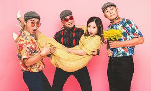Nhóm MTV gây cười với màn 'hướng dẫn đi quẩy' dịp Tết