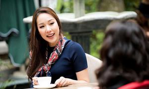 Hoa hậu Ngô Phương Lan hướng dẫn kỹ năng sống cho giới trẻ