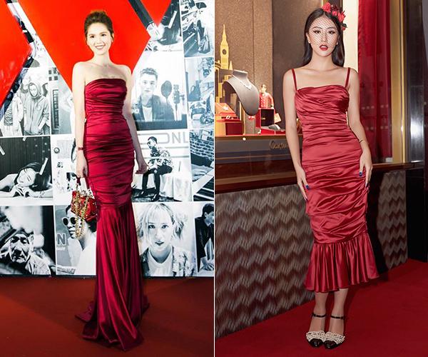 Ngọc Trinh xù lông khi bị nghi mặc váy nhái Quỳnh Anh Shyn - 2