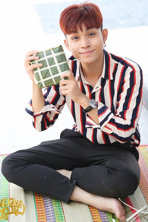 Ngô Thanh Vân - Jun Phạm hì hụi nấu bánh chưng đón Tết - 2
