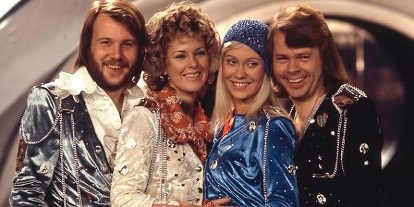 4 thành viên tài năng của nhóm nhạc ABBA.