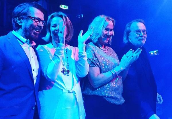 Năm 2016, các thành viên ABBA gặp lại nhau sau nhiều năm xa cách.