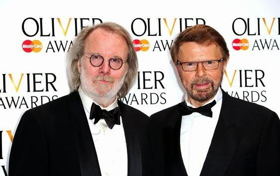 Andersson và Ulvaeus là hai người bạn thân cả trong âm nhạc và ngoài đời thường.