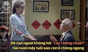 'Chồng lạ ơi' phiên bản chế dành hội độc thân ngày Tết gây sốt mạng xã hội