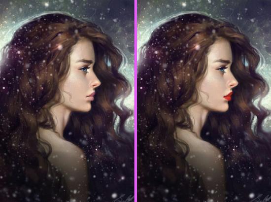Ngắm gái xinh tìm ra điểm khác biệt duy nhất