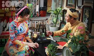 Phố ông đồ giữa lòng Sài Gòn nhộn nhịp girl xinh đến pose hình