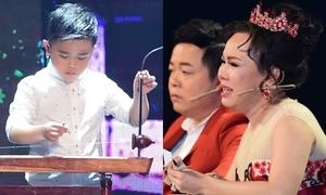 Cậu bé 6 tuổi diễn kịch khiến Việt Hương, Quang Lê khóc nức nở