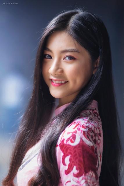 Miss Teen Nam Phương khoe nhan sắc rực rỡ tuổi 18 giữa phố xuân - 5