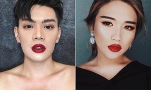 4 nam 'cao thủ trang điểm' Việt mặt hoa da phấn con gái cũng mê