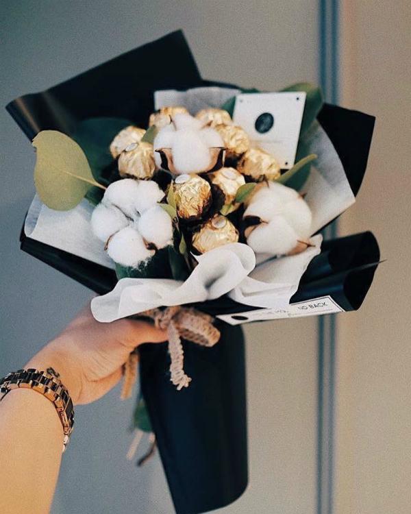 Những bó hoa kẹo vừa ngọt ngào, vừa thực tế