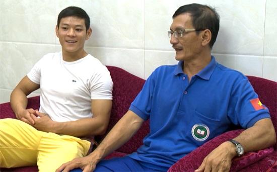 Bóng hình người thầy luôn in đậm trong sự nghiệp thể thao của Thạch Kim Tuấn.