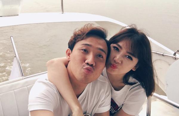 Hari Won và Trấn Thành đang tận hưởng cuộc sống vợ chồng son.