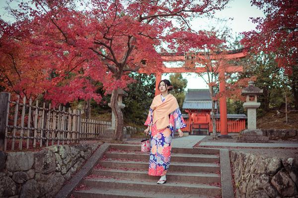 Á hậu cao nhất Việt Nam đẹp mong manh trong trang phục truyền thống Nhật Bản - 6