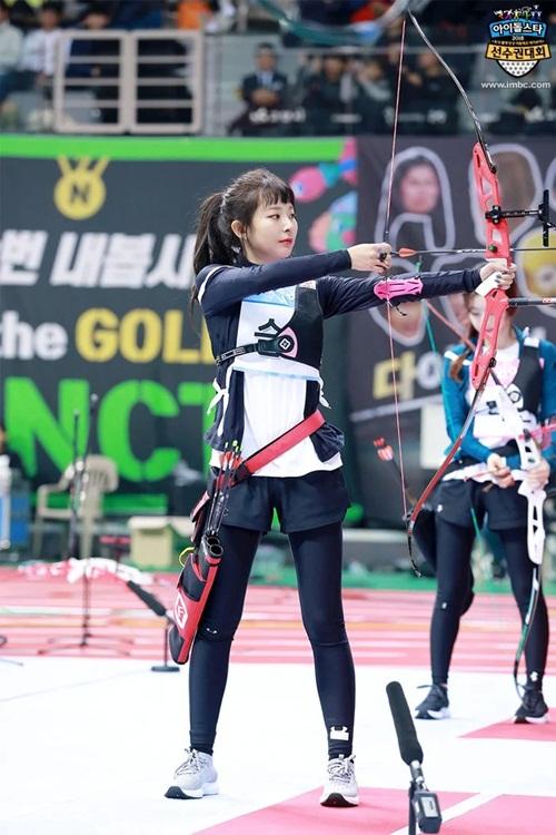 Tzuyu, Irene đẹp như bước ra từ truyện tranh khi thi bắn cung - 2