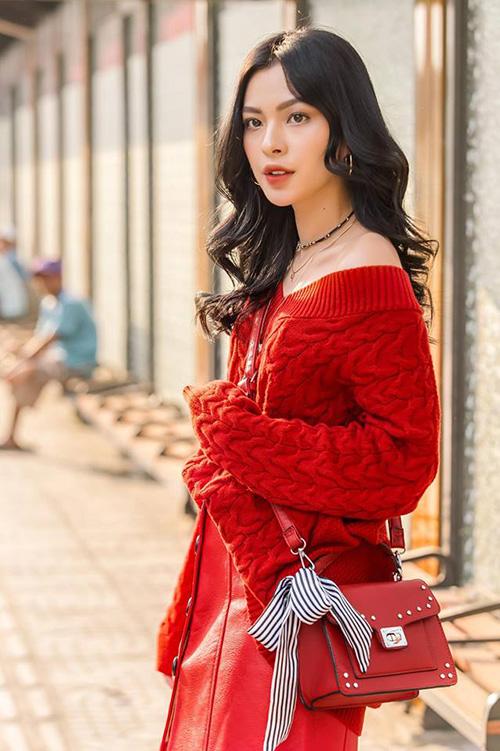 Street style đẹp miễn chê những ngày cận Tết của sao, hot girl Việt - 3