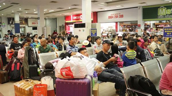 Ga Sài Gòn nhộn nhịp người về quê những ngày cận Tết - 7