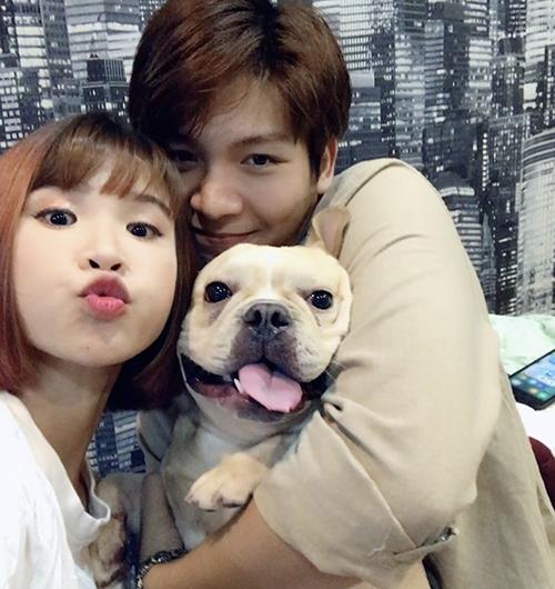 Chú cún cưng được Khởi My - Kelvin Khánh yêu thương như con
