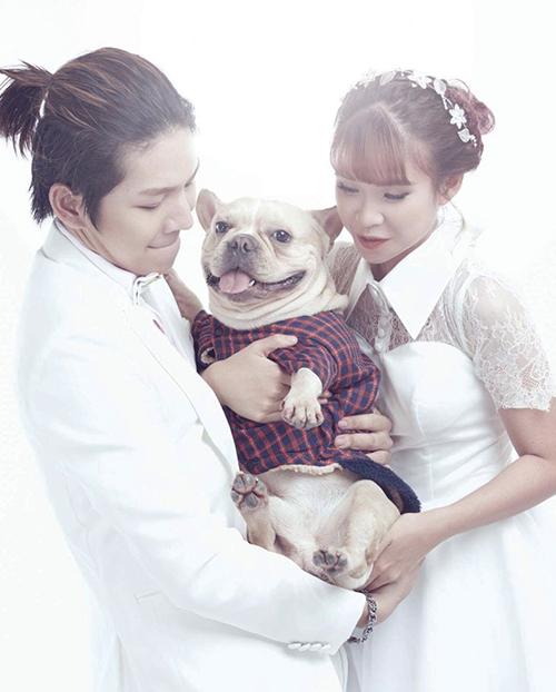 Chú cún cưng được Khởi My - Kelvin Khánh yêu thương như con - 12