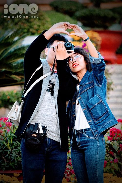 Các cặp gà bông Đà Nẵng xúng xính pose hình đón Tết - 4