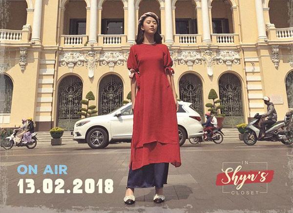 Áo dài đón Tết từ xinh yêu đến sang chảnh của hot girl Việt - 7