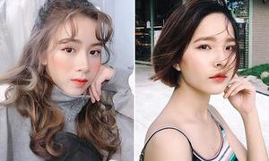 Trào lưu làm tóc khác biệt của các hot girl Hà Nội và Sài Gòn