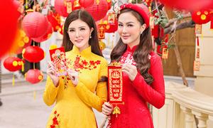 Kelly Nguyễn rủ bạn thân Lilly Luta du xuân