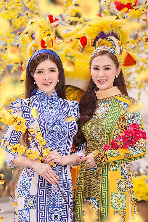 Kelly Nguyễn rủ rê bạn thân Lilly Luta duxuân - 3