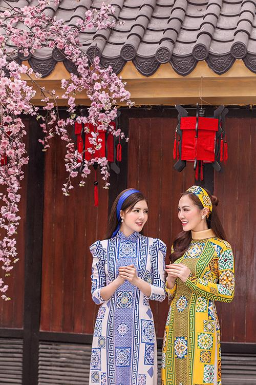 Kelly Nguyễn rủ rê bạn thân Lilly Luta duxuân - 8